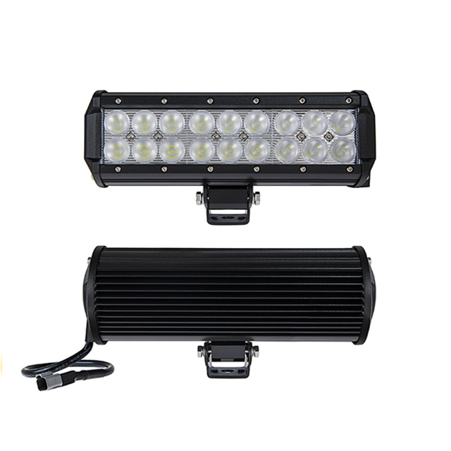 4x4 car accessories adjustable double row LED light bars 12V 54W 9inch led light bar