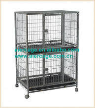 Pet cages square tube double dog cages