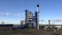 RUNNING LOW COST !!! SMALL LD105 ASPHALT MIXING PLANT