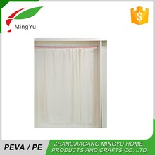 Professional Manufacturer Peva/Pe Color Changing Shower Curtain