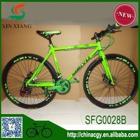 Hot sell 26 inch high quality fixed gear bike/chopper bike with double disc brakes