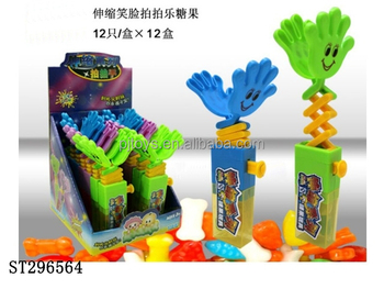 ELASTIC CLAP CANDY TOYS PALM TOY CANDY