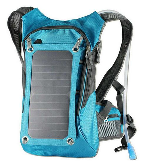 New water bag with solar power function