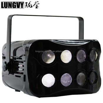 Factory price 2*20w 7IN1 Professional KTV Bar Club Party Wedding Stage Lightings LED Double Butterfly DJ Disco Light