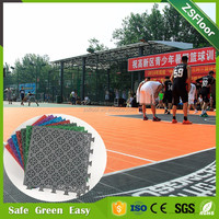 ZSFloor mobile basketball court floor