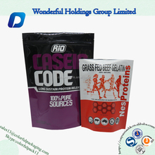 2016 NEW printed foil packaging for washing powder aluminum foil bag food packaging stand up bag