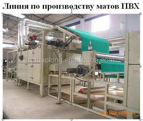 china PVC Floor Mat Production Line / Barbados Plastic Machinery / car Mat Production Line