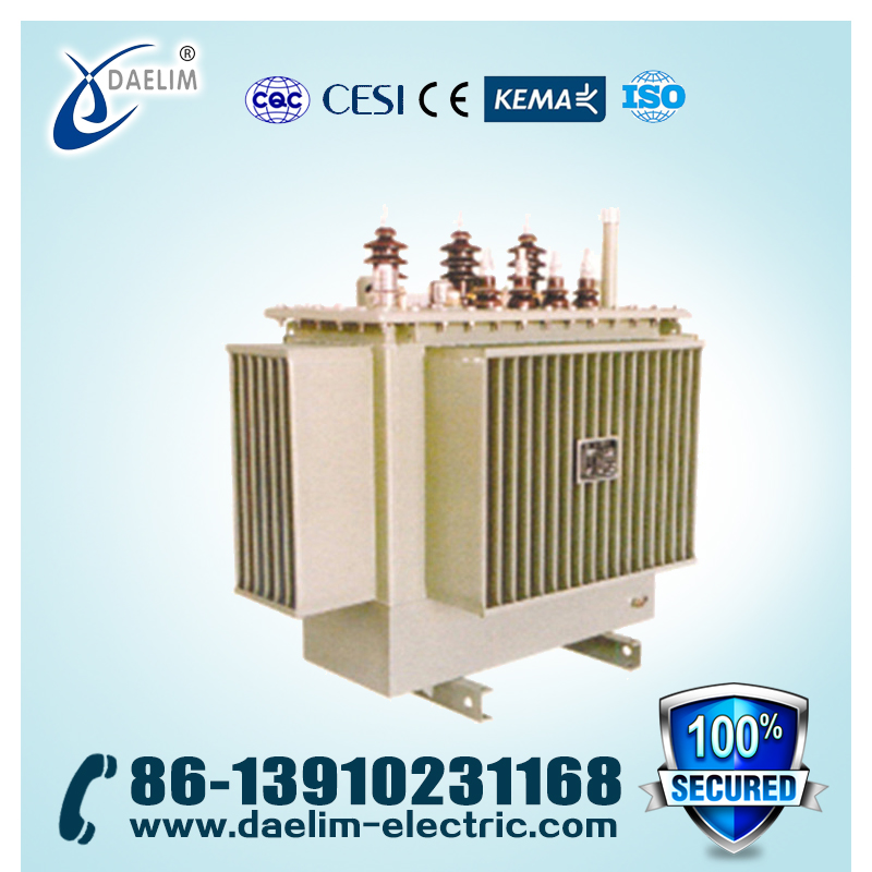 Full-sealed 6.3kv 200kva Oil-immersed Distribution Transformer with Spiral Core