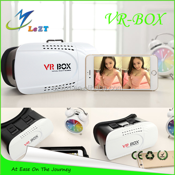 LeZT 2016 New Design Products VR BOX 3D Glasses Virtual Reality Headsetfun sexy adult movie and game