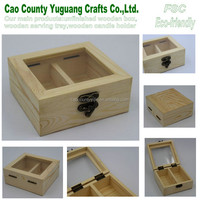 wood essential oil box,gift box for essential oil box, 2 glooves box