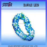 blue hawaii flower leis