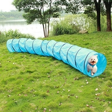 Pet Training Dogs Training Play Tunnels Pet Large Obstacle Course Toy Round Dog Agility Tunnel