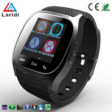 China smart watches touch screen M26 smart watch with pedometer for android and ios health care