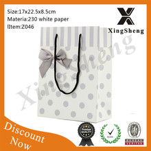 wholesale high quality promotion paper gift shopping bag promotion indonesia paper products