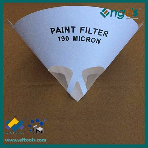 Hot sell OEM 160g 80 mesh 190 micro paint strainer