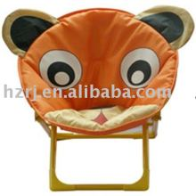Folding cartoon moon chair for children or kid