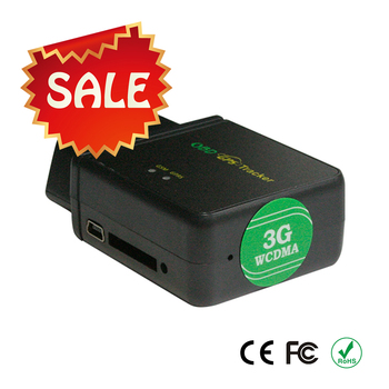 3G Car Obd Ii Gps Tracker With Remotely Reading Odometer And Cumulative Mileage