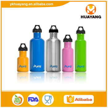 25oz wide-mouth stainless steel single wall Cooler Drinks water bottle wholesale