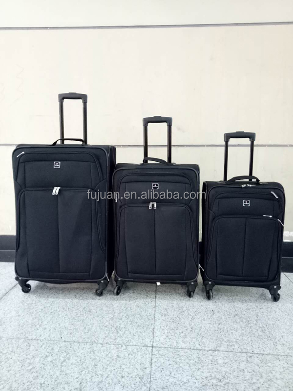 Black luggage 4 wheels new stock heys luggage on sale