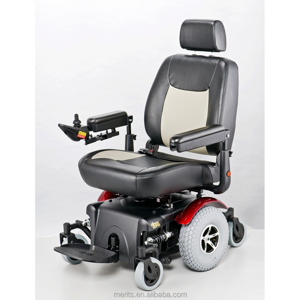 P327 heavy duty mid wheel drive power case wheelchair three wheel motorcycle