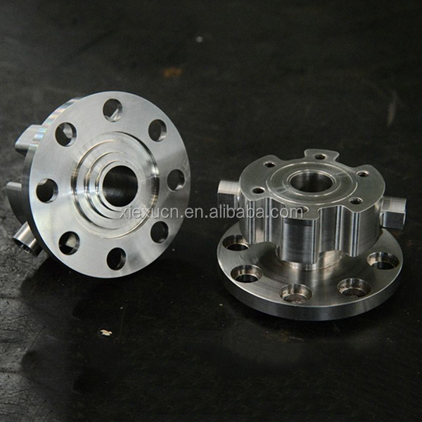 High quality CNC machining parts , flange assemble part for machines