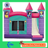 pink princess used inflatable slide bouncer jumping popular inflatable bouncers