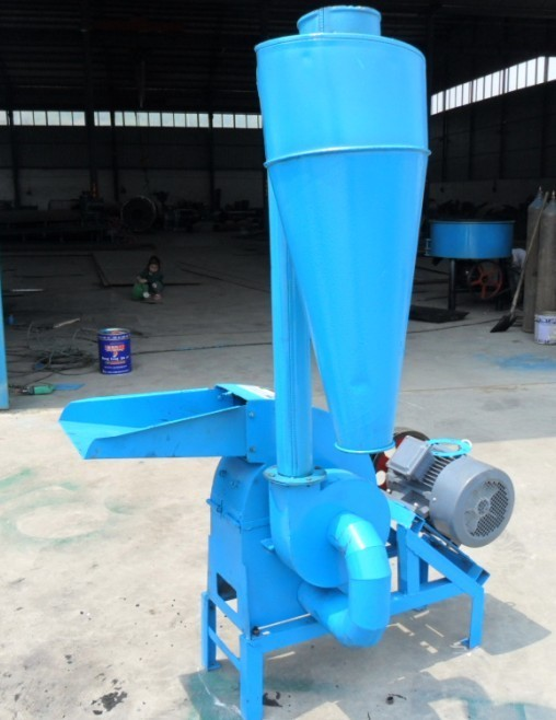 9FQ nut shell crushing machine/animal feed grain hammer mill grinder/corn stalk shredder machine