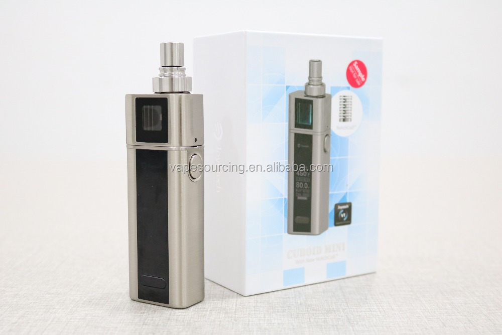 2016 new arrival ! Joyetech Cuboid mini 80w kit with Notch coil 0.25ohm