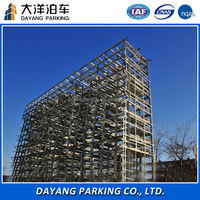 lift slide car parking equipment with CE for sale