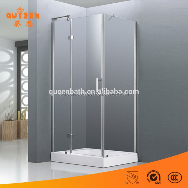 Queen exotic sauna stainless steel temper glass complete shower room with frame