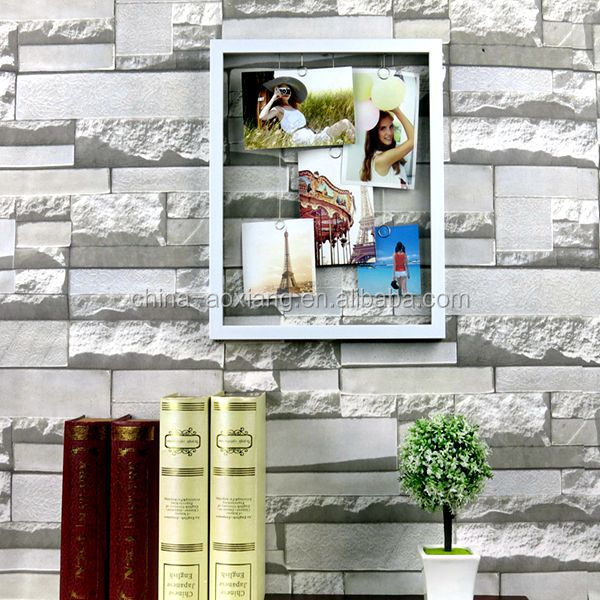 new innovative home products Photo Frame DIY Hanging Plated - 5P Photos with Cement <strong>decoration</strong> for wall