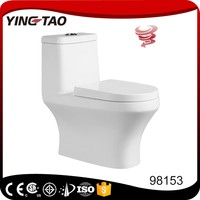 bathroom siphon toilet bowl self cleaning square water closet one piece water saving colorful toilet wc price