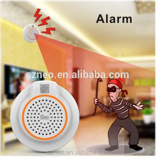 NEO smart home alarm system security 2016 with iot sensor