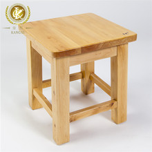 China cheap solid cedar rustic wooden stool, wood chinese stool