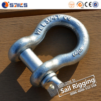 Hot Dipped Galvanized Chain Shackle Rigging