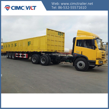 CIMC Cargo trailer with high side wall to pakistan