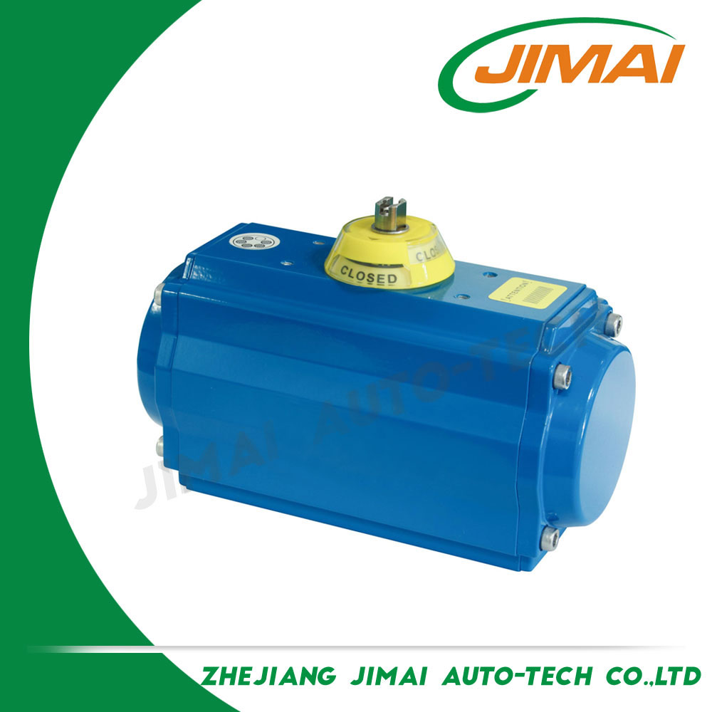All-season performance factory directly JAT Spring Return Valve Pneumatic Rotary Actuator