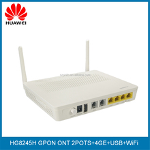 Huawei echolife GPON ONT HG8245H with USB port,Huawei FTTH home gateway WIFI GPON ONT