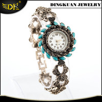 fashion designer watch alloy material jewelry bracelet watch factory at cheap price
