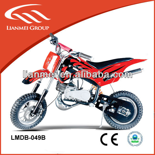 mini bikes for kids 49CC two stroke cheap dirt bike with EPA certificate