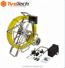 120m cable drain sewer pipe inspection camera underwater CCTV video inspection pan tilt camera TVBTECH-3299F