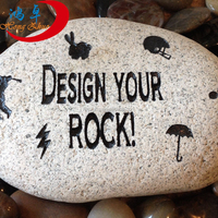 Engraved Inspirational Words stones Mixed river rock stones