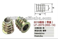 Zinc alloy furniture t nut with good quality