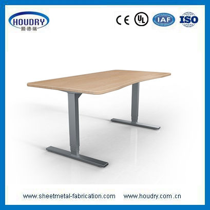 Furniture cabinet hardware height adjuster sit stand desk