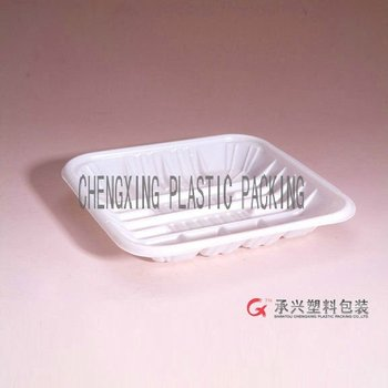 CX-214 recycled plastic food tray