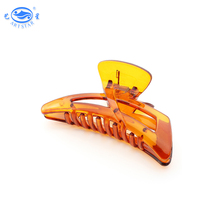 Wholesale acrylic style PC 95 mm big hair claw clips for fine hair