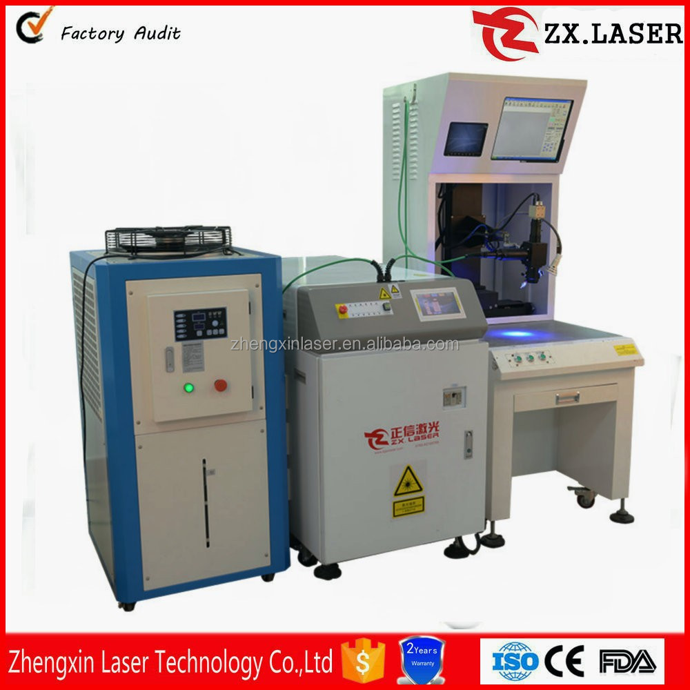 High quality battery/stainless steel auto parts/mould laser spot welding machine for sale from Shenzhen supplier