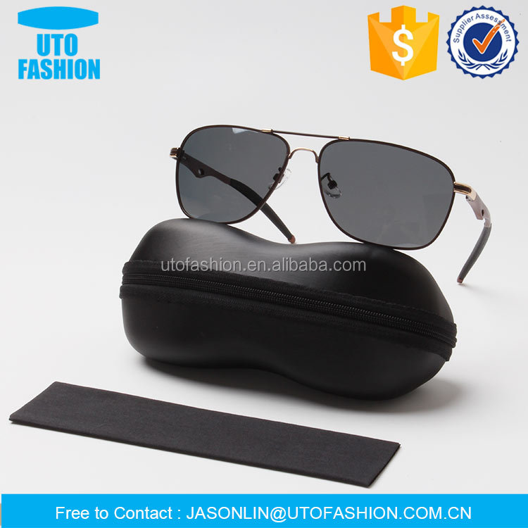 YT0203 customer designed high class material sunglasses case