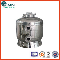Commercial use side-mount industrial water filter