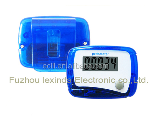 LCD Step Counter Walking Distance LCD Run Pedometer Single Function Pedometer
